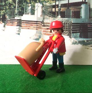 Playmobil 4114 mozo tren mercancía