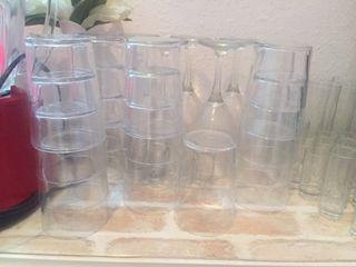 Vasos de cristal