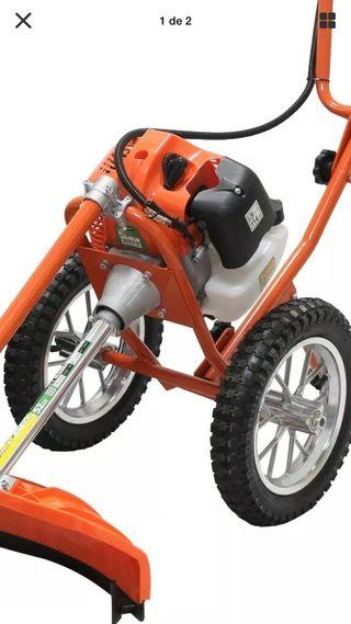 Desbrozadora con ruedas profesional