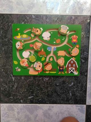 puzzle madera niño/a bebé