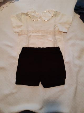 Conjunto de vestir talla 18 meses