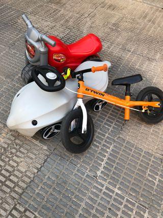 Moto delfin eurecakid bici
