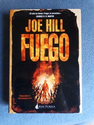 Novela Fuego Joe Hill
