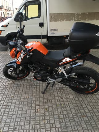 KTM DUKE 125 en perfecto estado
