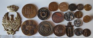 Lote medallas colección militares y variadas