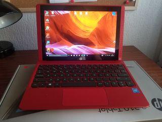 Portátil convertidor a Tablet HP x2 210 color rojo