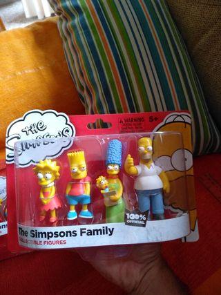 Colección Figuras LOS SIMPSONS. Nueva