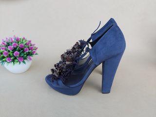 Hoss Intropia zapatos piel tacón Talla 38
