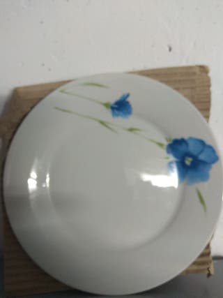 vajilla porcelana 19 piezas
