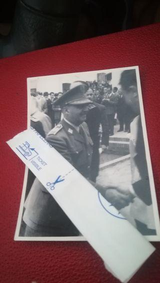 Antigua fotografía de Francisco Franco