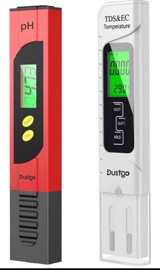 Medidor ph y temperatura agua