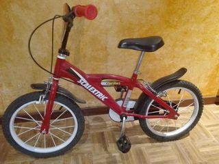 Bicicleta infanil scalextric (3-6 años) de 16 pulg