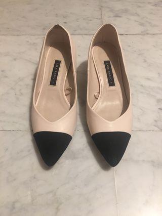 Zapatos tacón zara 38
