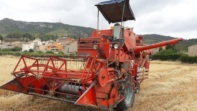 cosechadora de cereales
