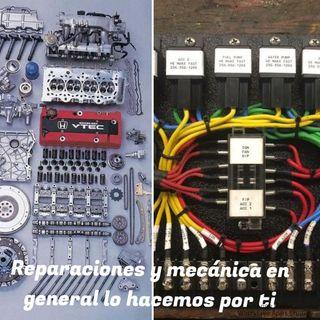 reparaciones y mantenimiento de vehículos mecanico