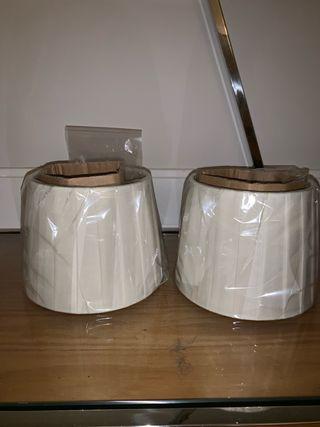2 Pantallas para lampara