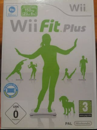 Juego wii - Wii fit plus