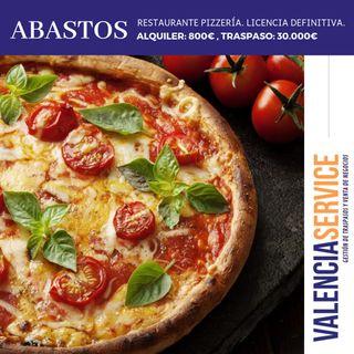 Pizzería-Restaurante zona Abastos