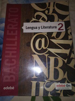 LIBRO LENGUA Y LITERATURA DE 2 DE BACHILLERATO.