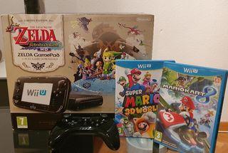 Wii U Edición coleccionista Zelda Windwaker