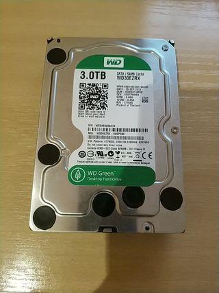 Disco duro 3.5 de 3 TB Western Digital