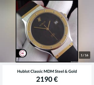 Hublot mdm steel-gold 1391.2