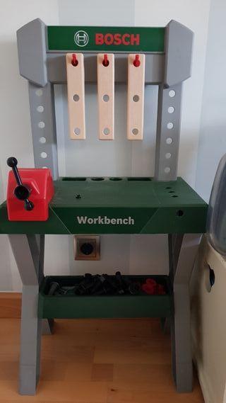 bosch workbench con caja de herramientas