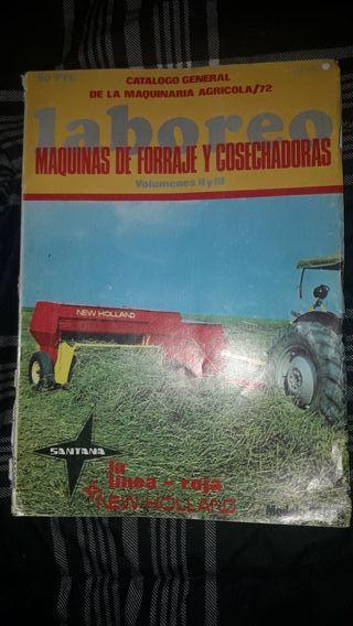 revista antigua. revista antigua de maquinaría ag