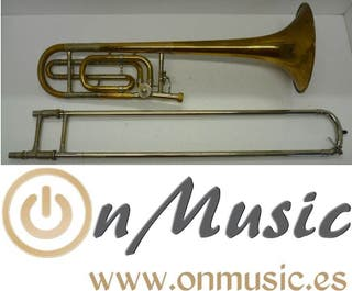 Trombón Bach Stradivarius 42G deslacado