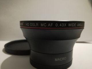 Lente MACRO para objetivos rosca 58mm