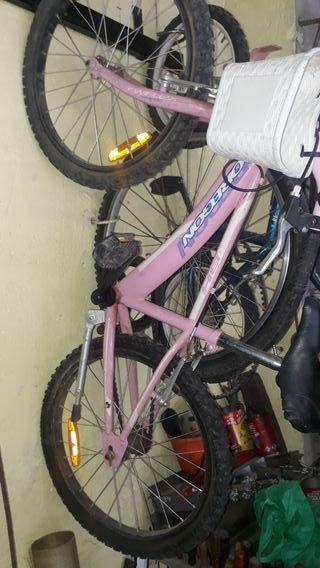 bicicleta mediana niña