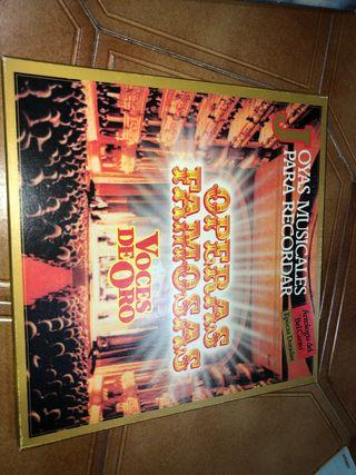 Vinilo de óperas famosas