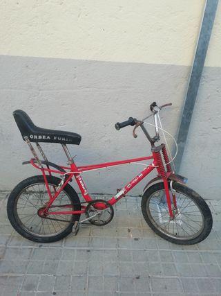 se vende bicicleta antigua orbea furia