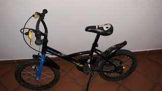 bicicleta 16 pulgadas, btwin,pirata bike
