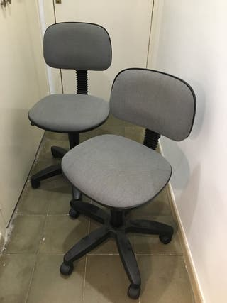 2 sillas escritorio oficina