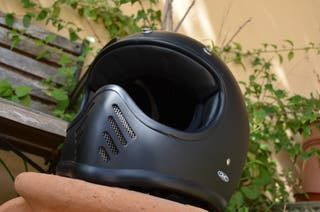 Casco de moto DMD Seventy Five Negro Mate