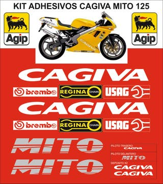 Adhesivos Cagiva Mito 125cc