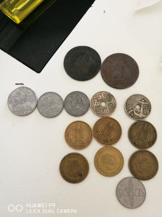 lotes de monedas antiguas desde romanas a Repúblic