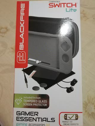 Kit de protección Nintendo switch Lite