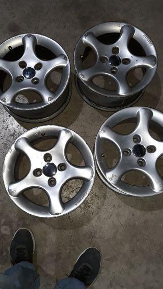 llantas aluminio 14 pulgadas