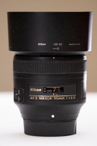 Objetivo Nikkor Nikon 85 1.8G Lente