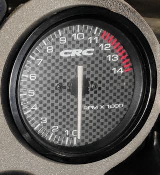 reloj revoluciones cagiva mito evo 125