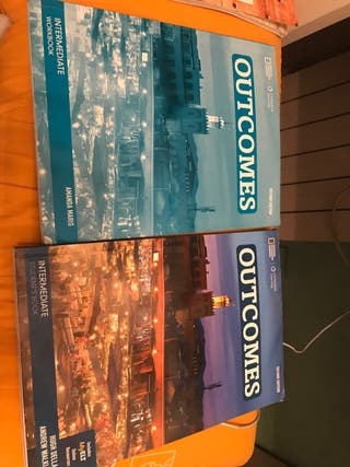 Libros inglés Outcomes, intermediate