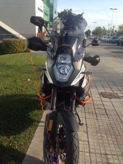 Pantalla Acerbis ahumada KTM Adventure
