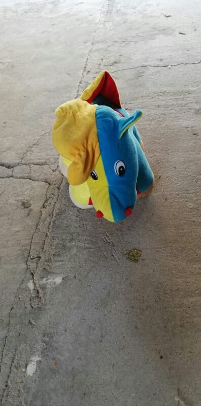 balancin caballo burrito