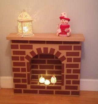 Chimenea decorativa Navidad
