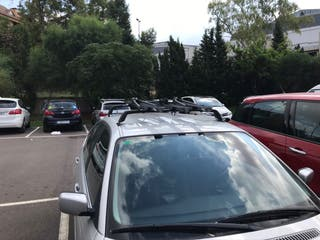 Baca y 3 portabicicletas para BMW berlina (E36)