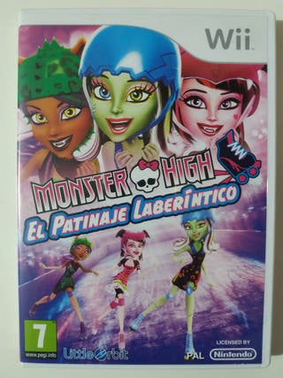 Juego Wii Monster High