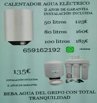 Calentadores eléctricos y Osmosis