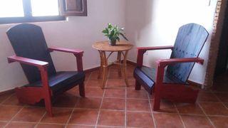 Sofa con palets individual